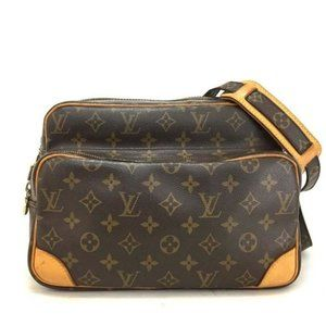 100% Auth Louis Vuitton Monogram Nil CrossBody Bag